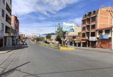 Así lucen las calles de la capital (William Zolá)