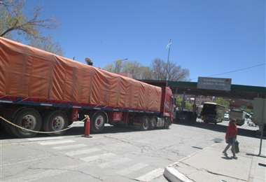 El paso internacional Villazón-La Quiaca. Foto: Iván Paredes