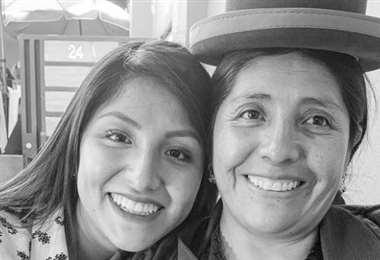 Francisca Alvarado en una publicación de su hija, Evaliz (Foto: Instagram)