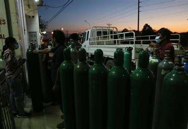 Santa Cruz demanda al día 9 toneladas de oxígeno