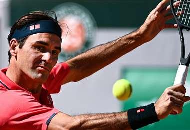 Roger Federer últimamente estuvo afectado por las lesiones. Foto: AFP