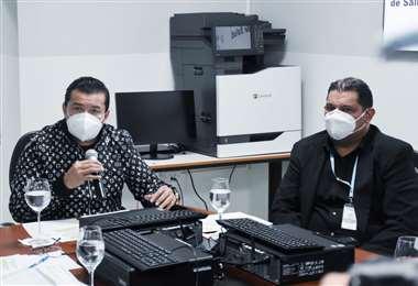 Jhonny Fernández pidió a las empresas presentar sus propuestas para construir la planta