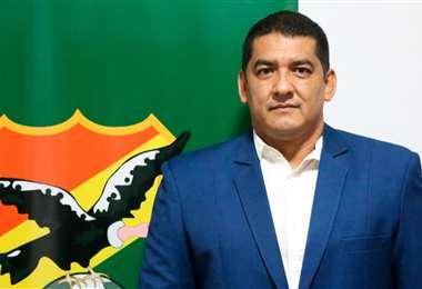 Marcos Rodríguez es vicepresidente de la FBF. Foto: Internet