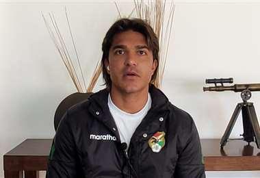 Marcelo Martins, de 33 años, es el goleador histórico de Bolivia. Foto: FBF