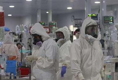 Personal de salud en Santa Cruz. Foto: Juan Carlos Torrejón
