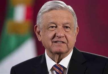 El presidente López Obrador