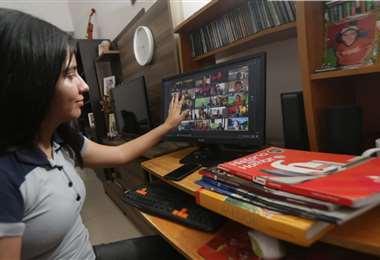 En la mayor parte del país se impulsa la educación virtual. Foto: Fuad Landívar