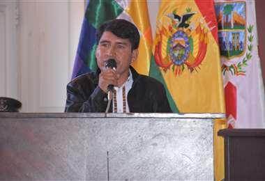 Damián Condori I Gobernación.