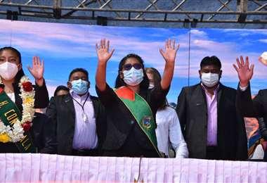 Masivo acto en El Alto I APG Noticias.