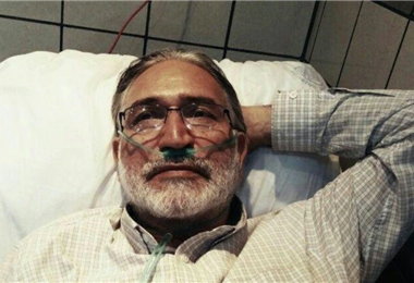 Mohammad Nourizad está encarcelado desde 2019
