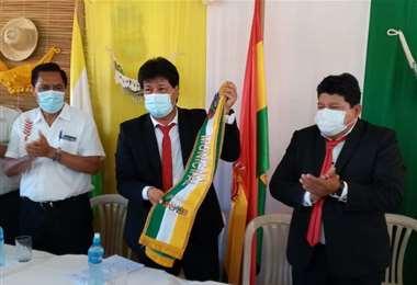 Pablo Eddie Guaristy, alcalde de Ascensión/Foto: Desther Agreda