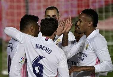 El Real Madrid espera conseguir su objetivo. Foto: AFP