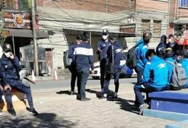 Los jugadores de San José en Oruro antes del viaje a Santa Cruz. Foto: internet
