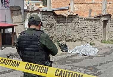 Asaltan y victiman a una joven en Villa el Carmen (La Paz). Foto: APG