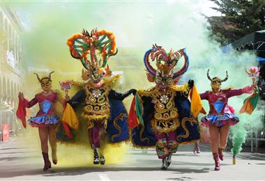 El Carnaval de Oruro es una de las festividades más populares de Bolivia