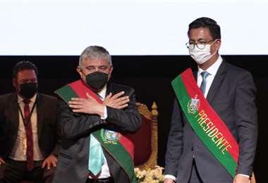 El alcalde de La Paz, postergó la posesión de sus colaboradores