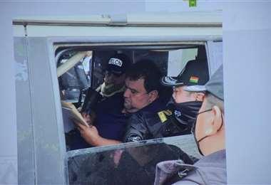 Foto APG: Lima Lobo fue trasladado este miércoles a la frontera con Brasil