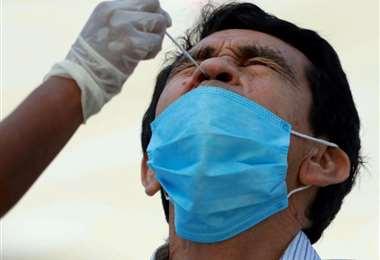 Foto Jorge Gutiérrez: Santa Cruz sumó a 6.864 los casos activos de coronavirus.