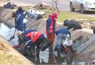 El alcalde pidió ayuda a los vecinos para fiscalizar las labores en la ciudad