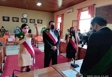 Juan Manuel Ruiz, nuevo presidente del Concejo Municipal de Cobija. Foto: Kiki Navala