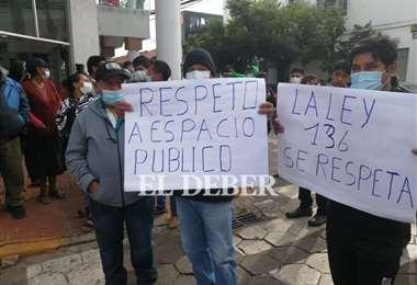 Vecinos y gremiales del Plan 3.000 piden al alcalde proteger la rotona. Foto: JC Torrejón