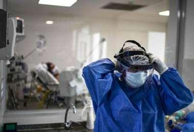 La ocupación de camas de terapia intensiva en el país es de 68,2%