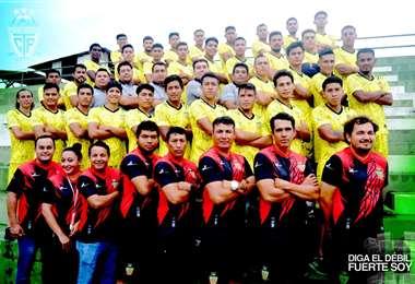 Plantel de Torre Fuerte que jugará el torneo de la ACF. Foto:TF