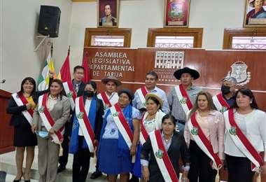 Asambleístas del MAS en Tarija