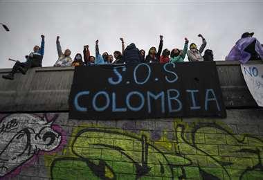 Colombia llama a un diálogo. Foto AFP