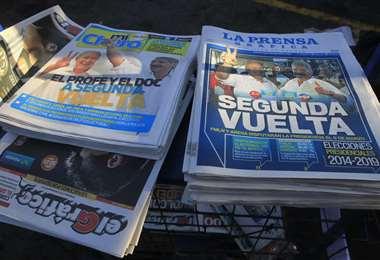 Diarios de El Salvador. Foto. Internet