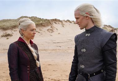 Emma D'Arcy es princesa Rhaenyra Targaryen y Matt Smith será  el príncipe Daemon Targaryen