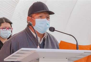 El Alcalde de Potosí denunció que lo espían en su oficina (Foto: Oficial)
