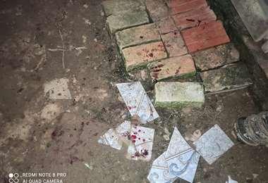 La Policía llegó a la vivienda de la pareja y recolectó los casquillos de las balas