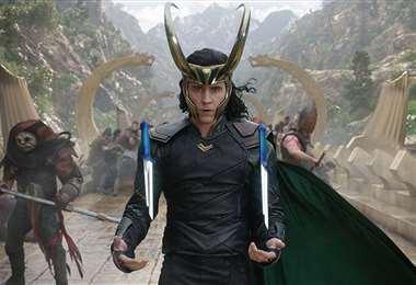 Escena de la serie de Loki