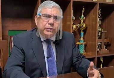 Osvaldo Ulloa ofreció a toda la comunidad universitaria para trabajar en el censo