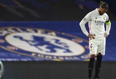 El Real Madrid quedó fuera de la Champions. Foto: AFP