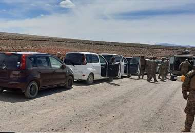 Los autos chutos ingresan desde zonas fronterizas del oocidente