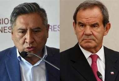 Cancilleres de Bolivia y Chile I EL DEBER.