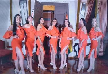 Ellas son las candidatas a Miss Chuquisaca 2021