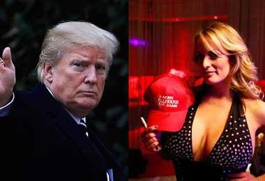 Campaña de Trump, de 2016, fue relacionada con la actriz Stormy. Foto. Internet