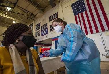 EEUU está en plena vacunación masiva. Foto. Internet