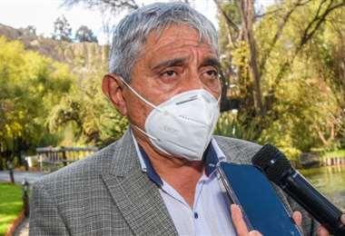 El Alcalde pide coordinar al Gobierno el tema salud (Foto: GAMLP)