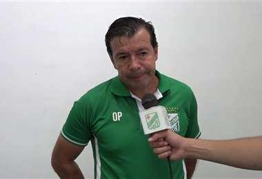 Erwin Sánchez, entrenador de Oriente Petrolero. Foto: internet