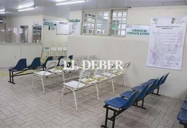 Paro médico en Santa Cruz/Foto: Juan Carlos Torrejón