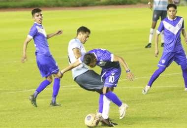 San José jugó el lunes en el Tahuichi ante Blooming. Foto: JC Torrejón