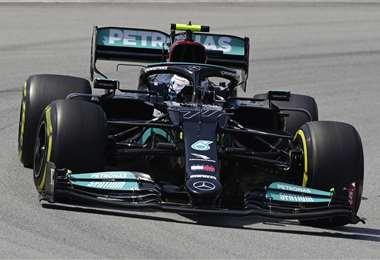 Valtteri Bottas, piloto finlandés de la escudería Mercedes. Foto: AFP