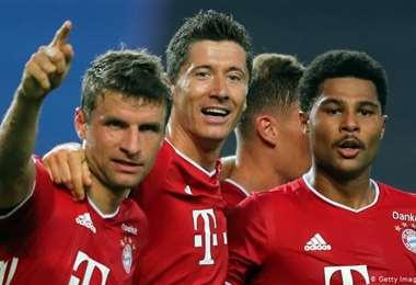 Bayern suma su título número 31 en la Bundesliga. Foto: internet