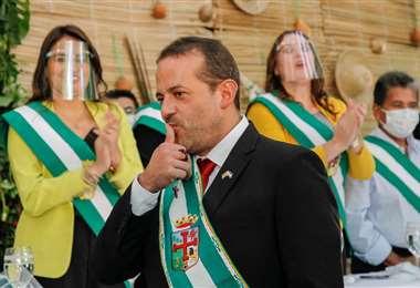 Camacho viajará el fin de semana a la Chiquitania para comprobar asentamiento ilegales