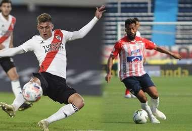 Junior y River Plate jugarán la próxima semana en Colombia. Foto: internet