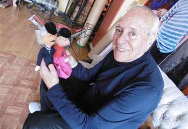 David Santalla, humorista y actor boliviano/Foto: ABI